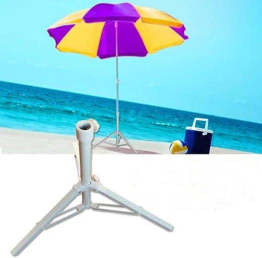 dianhai306 - Soporte para sombrilla de Playa portátil Resistente para sombrilla de jardín Plegable: Amazon.es: Hogar