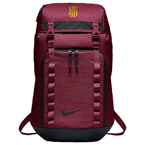 Nike Kyrie BA5449-677 Team Red/Black/University Gold Unisex Basketball Backpack by NIKE