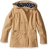 The Children's Place Baby Toddler Girls' Uniform Twill Jacket, Sesame, 2T
