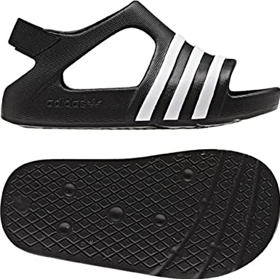 935a177f926c9 Amazon.com  Adidas - Adilette Play I Infant Sandals In Black Black White