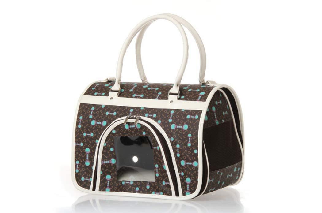 Brown SmallPet Handbag, Dog Mountaineering Bag, pet Bag Portable Dog Bag Dog Bag Handbag Wallet pet Bag Portable Dog Bag Dog Bag Wallet,Brown,S