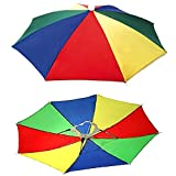 Hands Free Umbrella Hat To Protect From Sun & Rain For School Going Kids And Adults One Piece