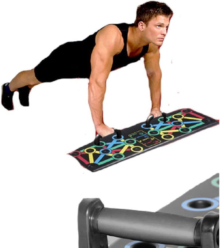 DaHeng ABS Fold Handle Pushup Stands for Family Fitness Training