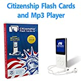 CitizenShip Flash Cards MP3 - Includes Mp3 Player - Learn all 100 Official USCIS Civics Questions and Answers in only 20 days with our exclusive Study Plan