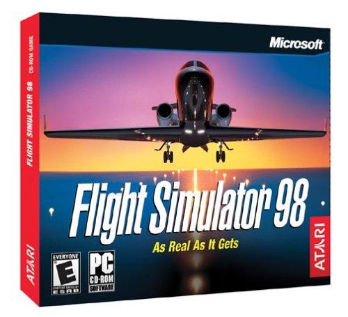 Picture of a Flight Simulator 98 Jewel Case 74272525134,742725251342
