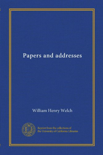 Papers and addresses (v.003)