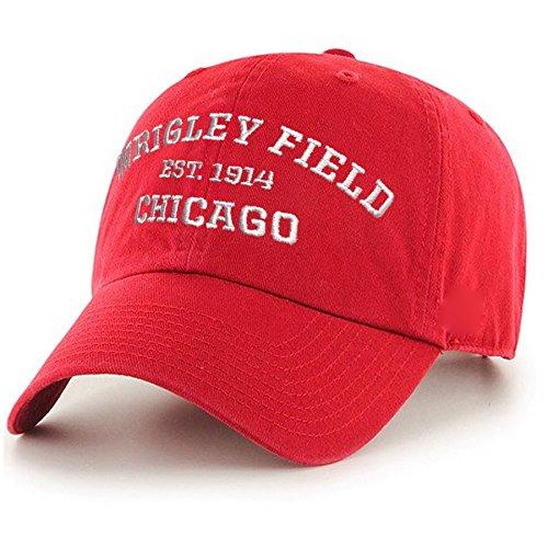 (Wrigley Field Adjustable Red Deuce Cap by ThirtyFive55)