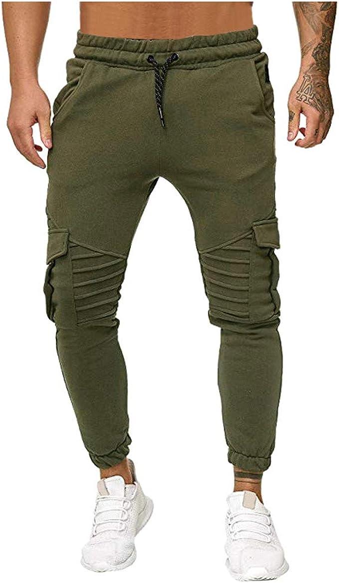 FELZ Pantalón Deportivo Estilo Jogger Hombre Pantalones de ...