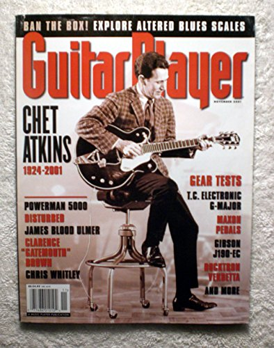 - Chet Atkins - Guitar Player Magazine - November 2001 - No Address Label!