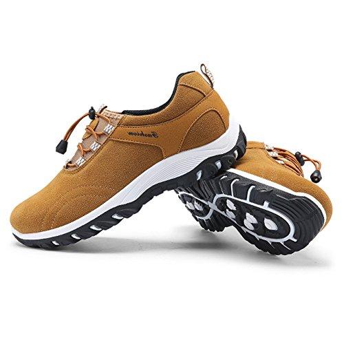第二動物園ハグFirst Encounterスニーカー メンズ スエード 軽量 ランニングシューズ 防滑 ハイキングシューズ アウトドア 紳士靴