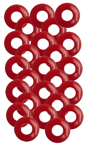 25 Pack of Red Polyurethane Gladhand (Gladhand Seals)