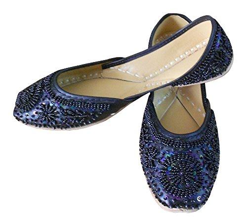indien kalra de en Creations pour Chaussures mariage traditionnel femme cuir rwIrZ