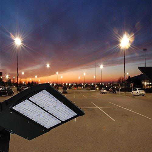Outdoor Parking Lot Light Fixtures: Top 10 Best LED Parking Lot Pole Flood Light Fixtures