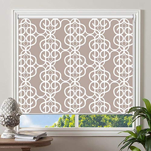 PASSENGER PIGEON Blackout Window Shades, Premium UV Protection Water Proof Custom Roller Blinds, Printed Picture Window Roller Shade, 43' W x 72' L, JIHE-14