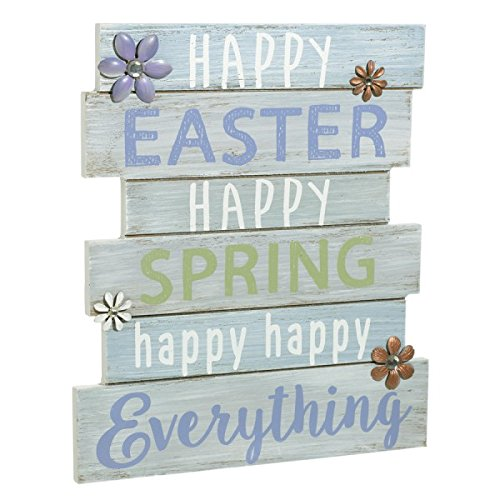 Happy Easter Happy Spring Happy Everything - Plankboard