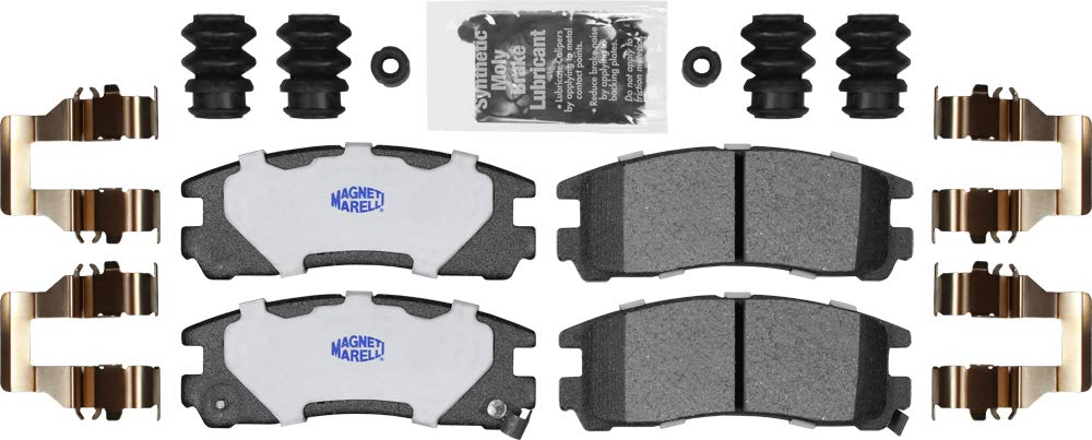 Magneti Marelli by Mopar 1AM40383XA Brake Pad Kit 4 Pack