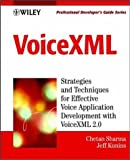 Voicexml, Chetan Sharma and Jeff Kunins, 0471418935