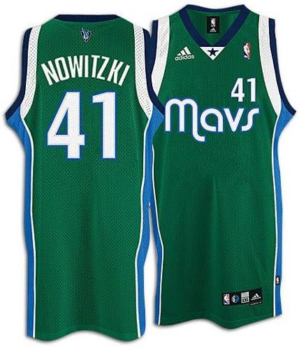 dallas mavericks green jersey