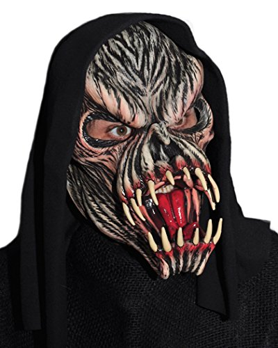 Fang Mask (Zagone Fang Face Mask, Monster, Creature or Zombie)