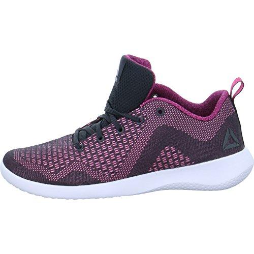 Reebok Femme Pour Rose Baskets Noir qWqr6gwTZ