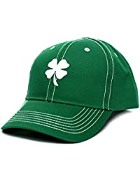 6dc68e40981 Ireland Irish Shamrock Clover Leaf St Patricks Day Embroidered Hat Cap Green