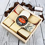 Gourmet Cheese Lover's Sampler in Gift Basket
