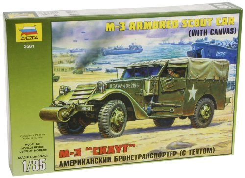 - Zvezda Models M-3 Armored Scout Car