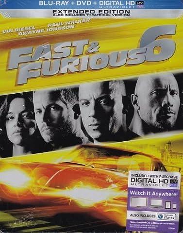 Fast & Furious 6 (Steelbook) by Universal Studios Home Entertainment (Universal Studios Steelbook)