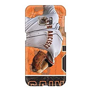 CharlesPoirier Samsung Galaxy S6 Protector Cell-phone Hard Cover Unique Design Beautiful San Francisco Giants Series [UgW25808sqUf]