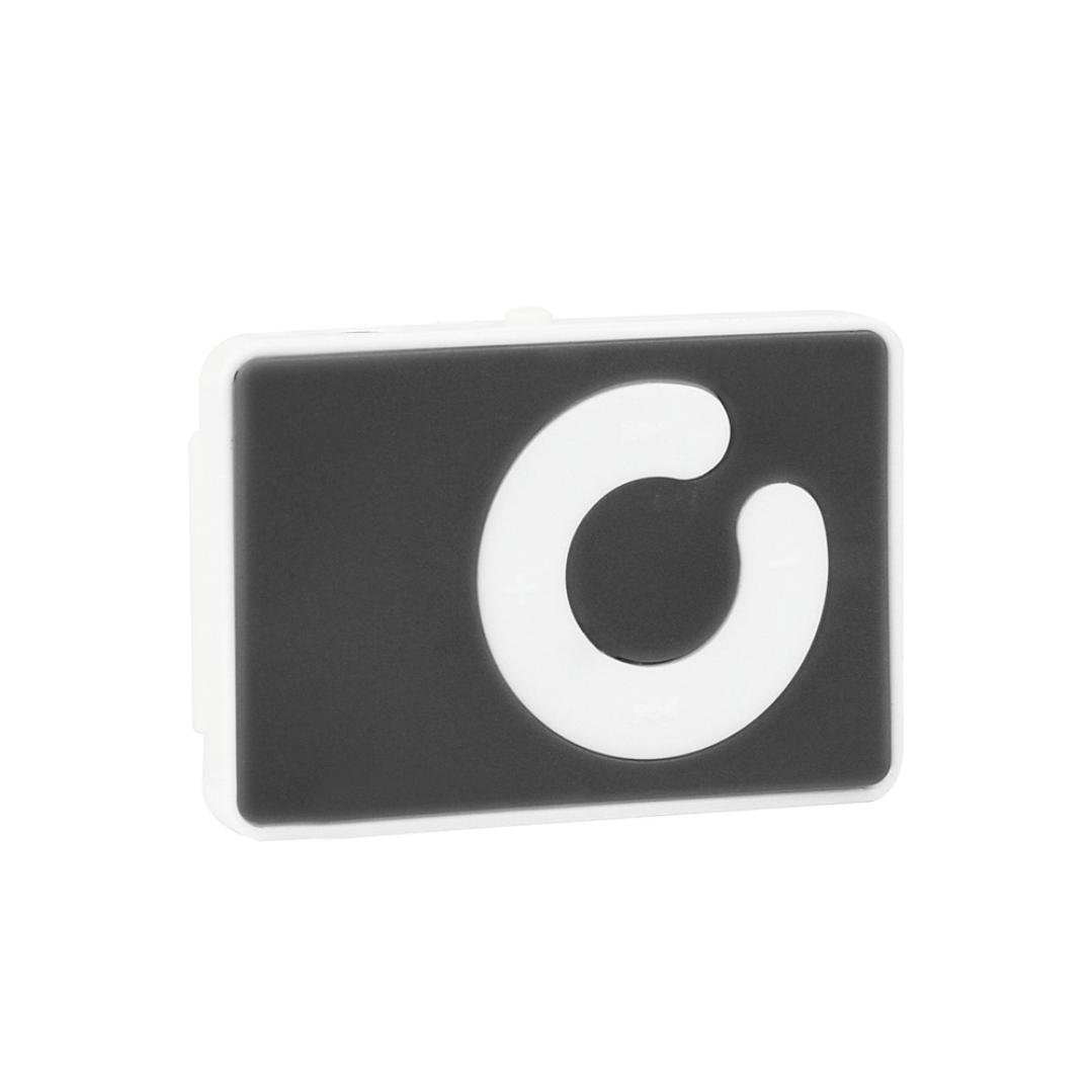 MP3 Player, Clip USB Digital Music Media with FM Radio Support 32GB Micro TF Card & Headset (Black)