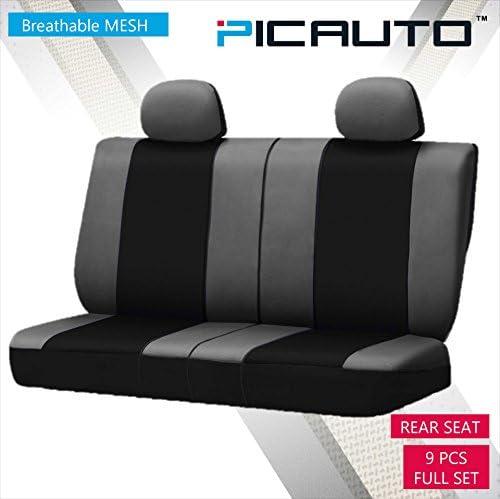 Amazon.com: PIC AUTO juego de fundas para asientos de auto ...