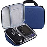 PAIYULE Carrying Case for Omron 10 Series BP785N / BP786 / BP786N Wireless Upper Arm Blood Pressure Monitor,Fits Charger and Cuff (Dark Blue)