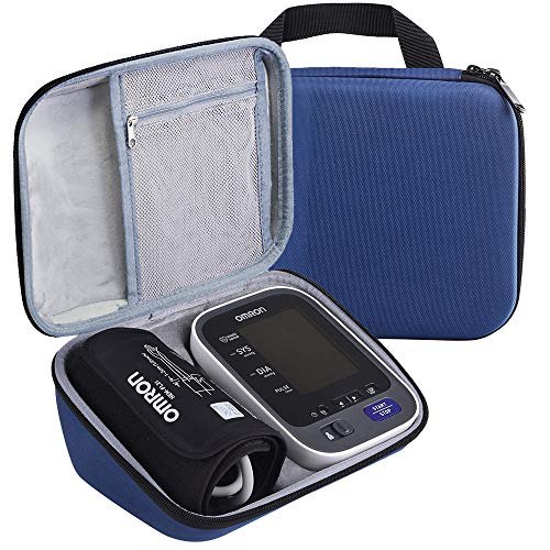 e Compatible Omron 10 Series BP785N / BP786 / BP786N Wireless Upper Arm Blood Pressure Monitor,Fits Charger and Cuff (Dark Blue) ()
