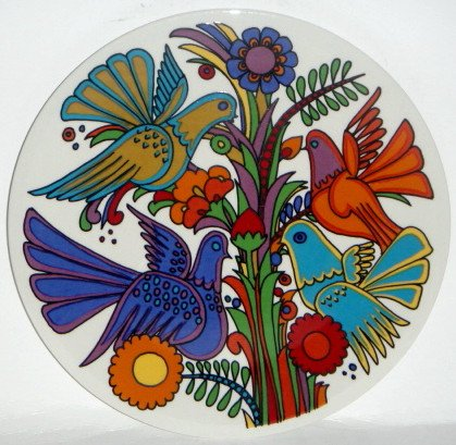 Villeroy & Boch Acapulco Salad Plate (Center Design)