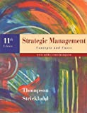 Strategic Management, Thompson, Arthur A., Jr., 0073037141