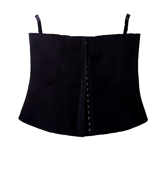 227dc54454 Curve It Right Women s Waist Trainer 01 Black XL  Amazon.in ...