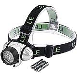 LE Headlamp LED, 4 Modes Headlight, Battery Powered...