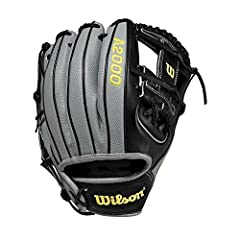 The A2000 1786 is Wilson's most popular infield pattern for a reason. Infielders can't get enough of the H-Web, flat finger binding and double lacing because they help keep the pocket shallow for quick transfers around the bag. This year's ta...