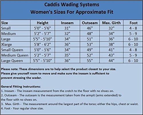 Pied Vert Caddis Stocking Wader Femme Néoprène gxq4I