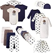Touched by Nature Baby-Girls Organic Cotton Layette Set and Giftset Layette Set