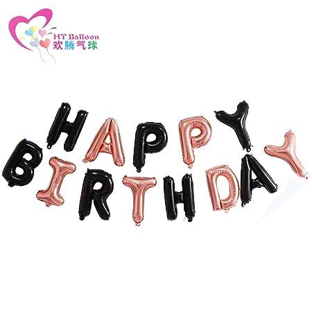 Carta cumpleaños globo fiesta infantil set cien globos set ...