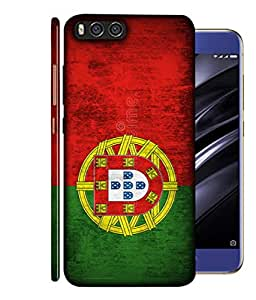 ColorKing Football Portugal 01 Multicolor shell case cover for Xiaomi Mi A1