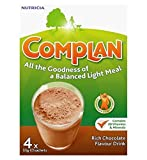 Complan Chocolate Flavour Nutritional Drink 4 X 55G - Pack of 2