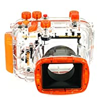 EACHSHOT 40M 130ft Waterproof Underwater Housing Camera Case Bag for Nikon Coolpix P7000