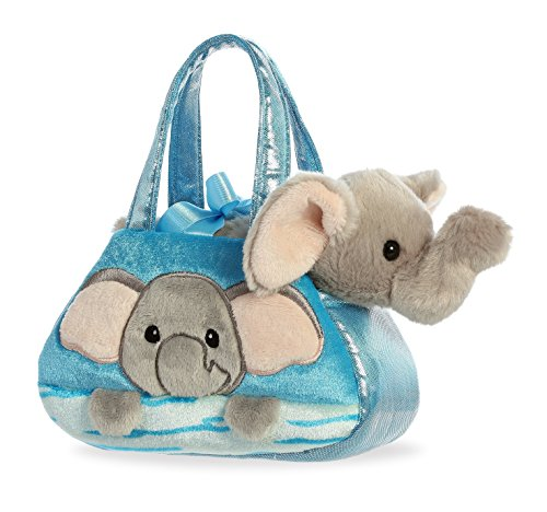 Aurora World Fancy Pals Peek-A-Boo Purse Pet Carrier Elephant (Boo Purse)