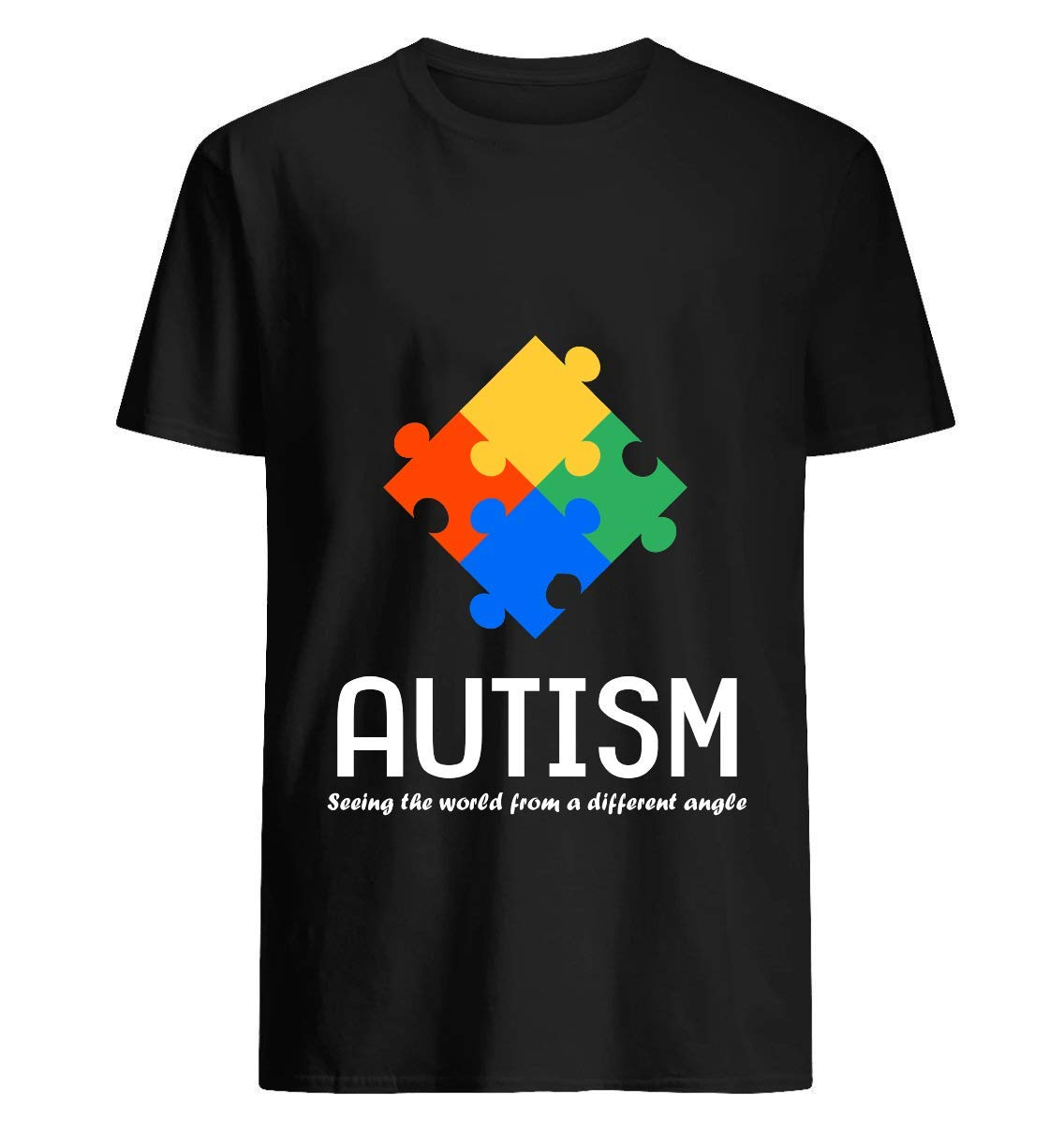 Autism From A Different Angle Shirt 44 T Shirt For Unisex