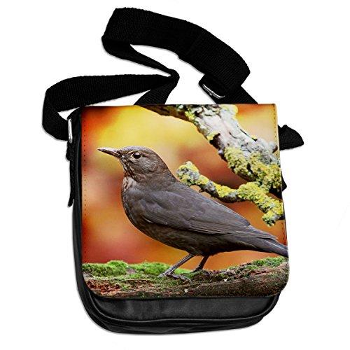 Blackbird animale borsa a tracolla 040
