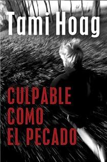 Culpable como el pecado par Tami Hoag