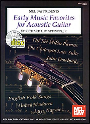 Mel Bay Early Music Favorites For Acoustic Guitar