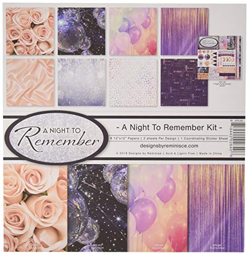 Reminisce A Night to Remember Scrapbook Collection Kit